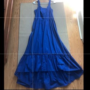 Blue high/low sundress—Who What Wear sz S